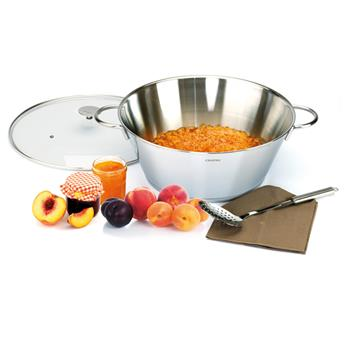 Bassine à confiture Multiply + Couvercle D34 Grande Tablée Cristel