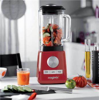 MAGIMIX Power Blender 1,8L Laqué Rouge