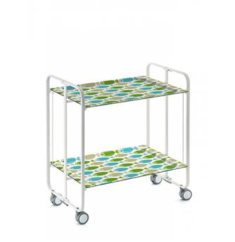 TWIST Table roulante pliante DHO Poissons