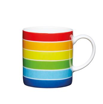 Tasse Expresso Porcelaine Coloré KitchenCraft ARC EN CIEL