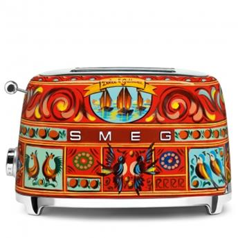 Toaster 2 tranches Grille pain Année 50 Dolce&Gabbana SMEG
