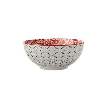 BOHO DAMASK Coupelle Porcelaine Décor Oriental D12.5