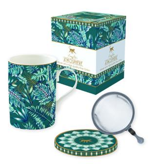 ATMOSPHERE Jungle Coffret mugs Tisanière porcelaine Vert
