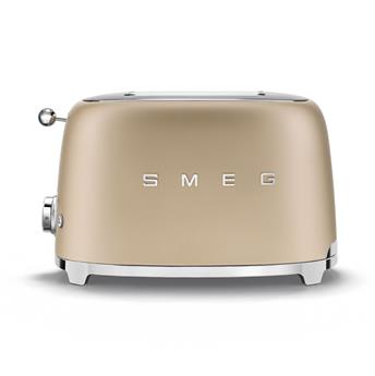 Toaster 2 tranches Grille pain Années 50 SMEG Or mat