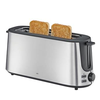 CLASSIC Grille Pain Toaster Long Cilio 1000 W  2T Inox