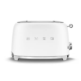 Toaster 2 tranches Grille pain Années 50 SMEG Blanc Mat